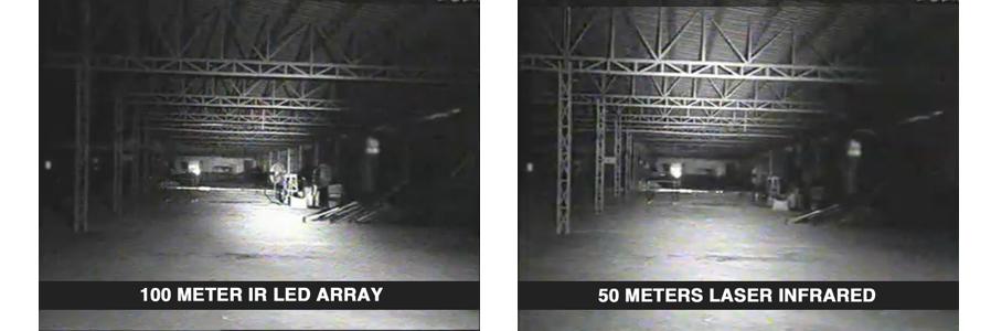 Whats laser infrared security camera laser infrared vs infrared led array aloadofball Images