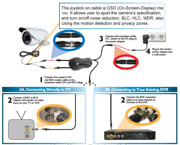 how to install and connect cctv cameras technology news cctv camera connection diagram