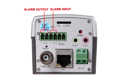 How to connect sensor to ip cameras alarm io technology news alarm inputsoutputs on ip camera cheapraybanclubmaster Image collections