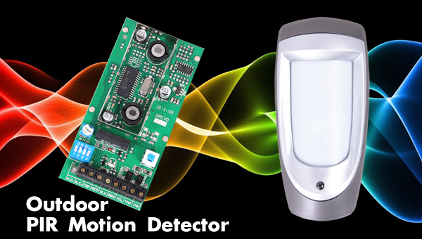 Outdoor PIR motion sensor