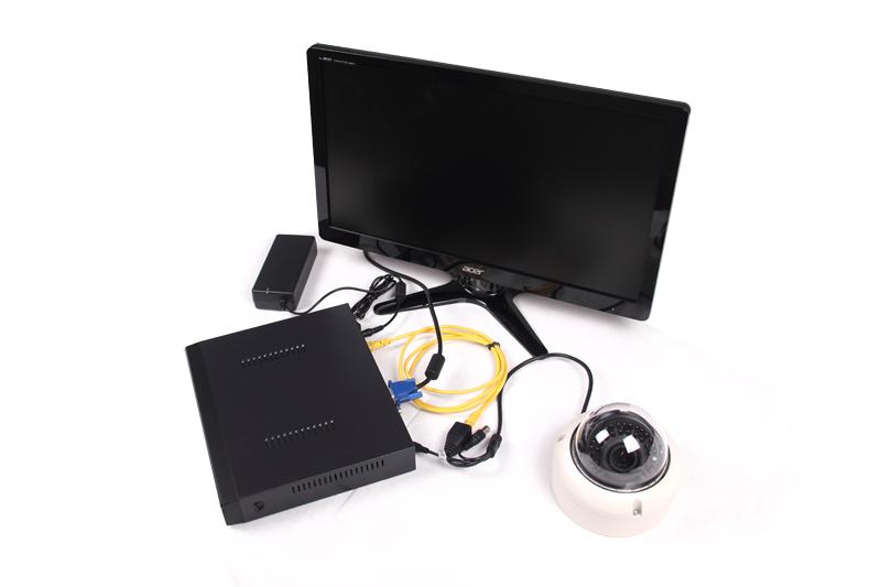 PoE NVR Camera System