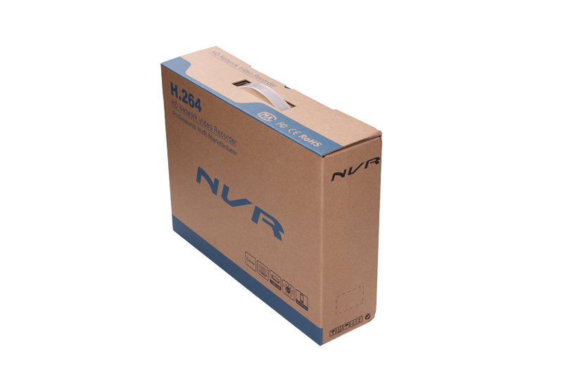 4CH NVR PoE Package Box