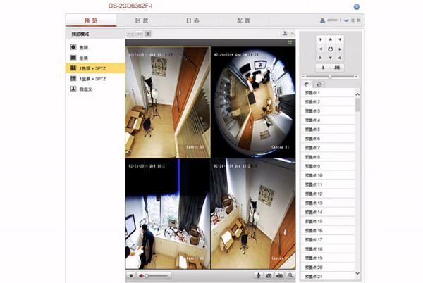 Hikvision Ds 2cd6362f I Panoramic Fisheye Ip Camera Tested