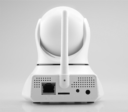 eRobot IP Camera Rear View