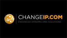 ChangeIP free DDNS logo