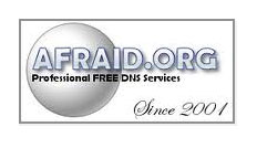 Afraid.org free dynamic DNS logo
