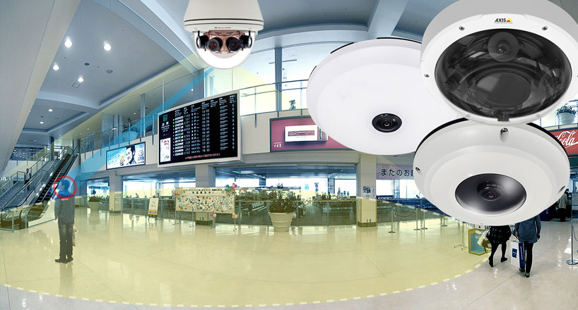 Panoramic Security Cameras