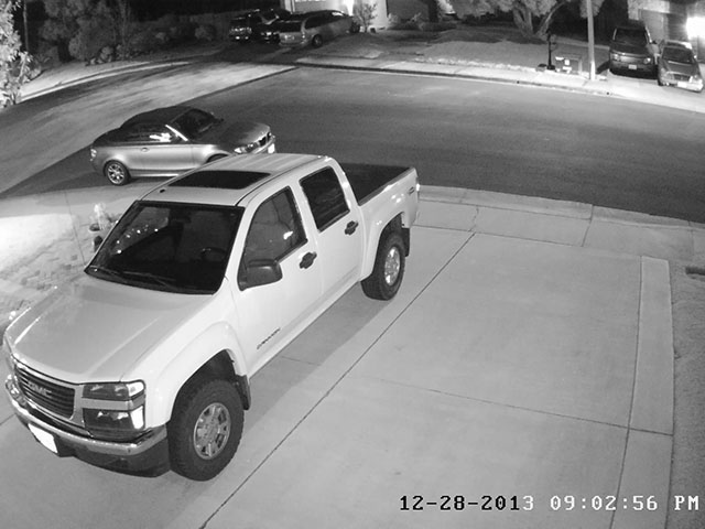 Hikvision DS-2CD2342WD 4MP Nighttime Image