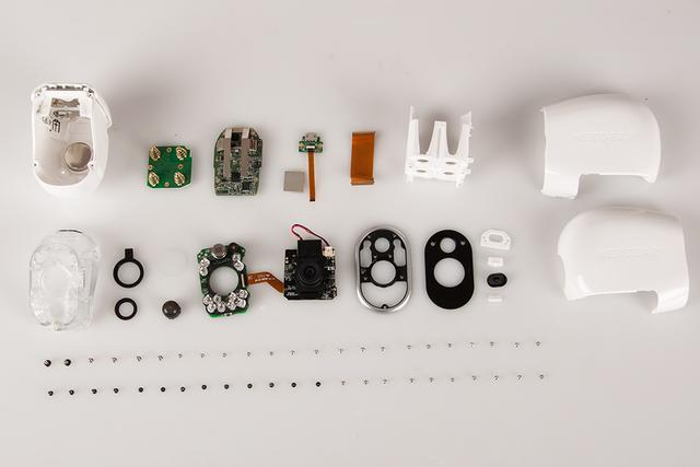 All the components used in Arlo Camera