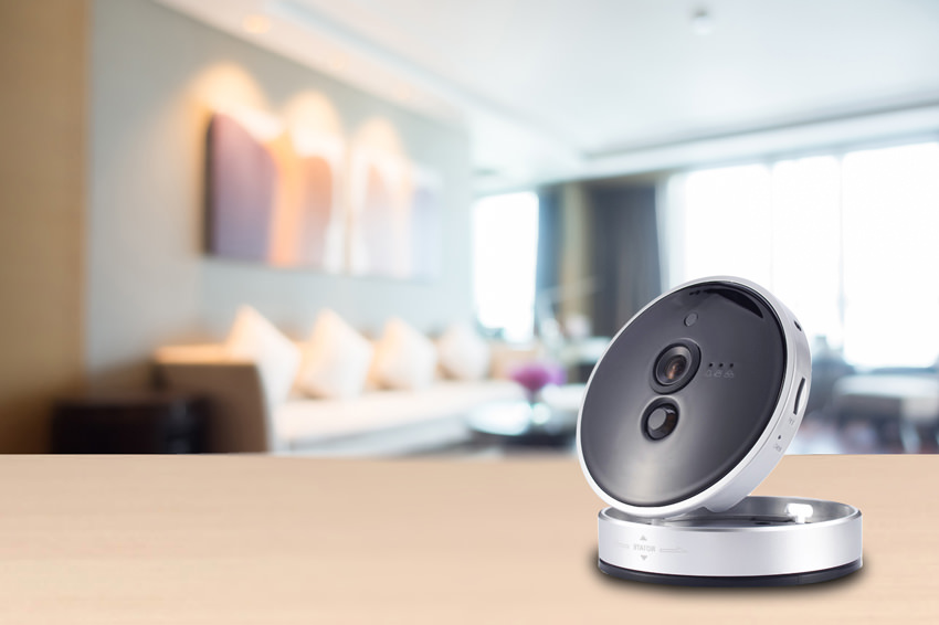 Smart Wi-Fi Cameras with PIR Motion Sensor