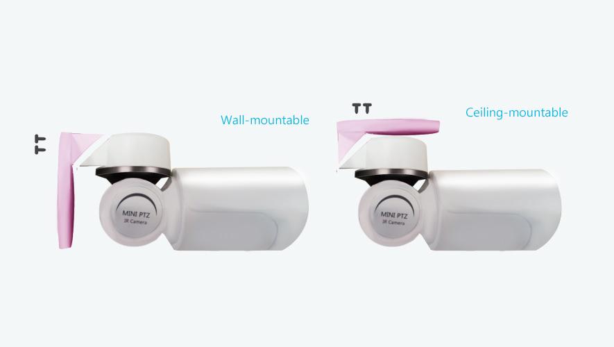 Mini PTZ Bullet Camera Installation