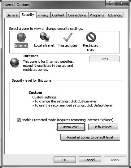 How to enable ActiveX plugin for IP camera DVR/NVR