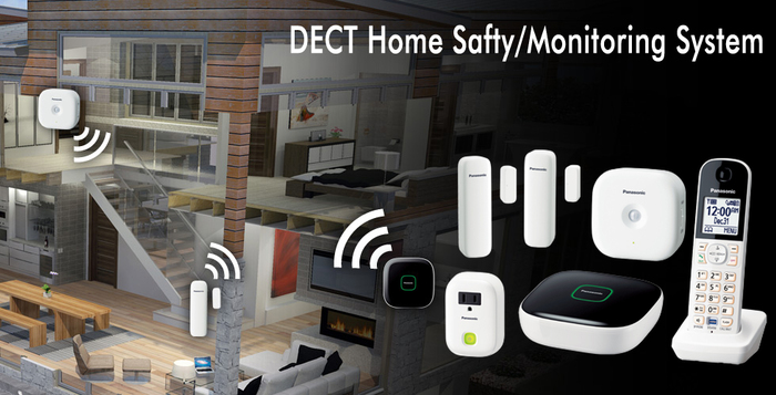 Home monitoring system wireless