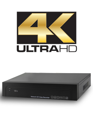 4K H.265 Network Video Recorder
