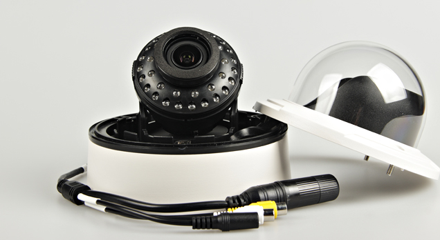 H.265 megapixel IP Dome Camera