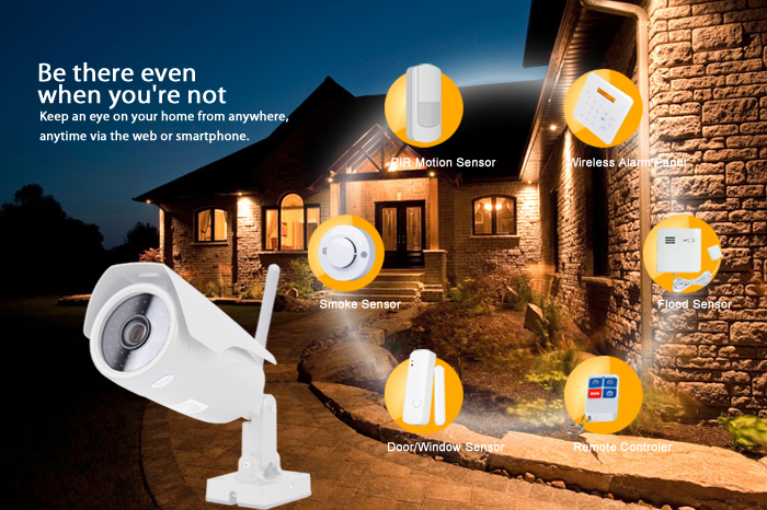 Outdoor Video & Alarm Security Camera
