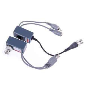 Utp Cat5 1ch Twisted Pair Video Baluns With Rj45