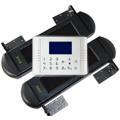 Solar powered wireless GSM perimeter alarm system
